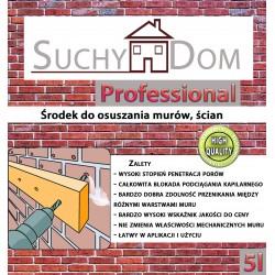 Suchy Dom Professional 5L - środek iniekcji krystalicznej