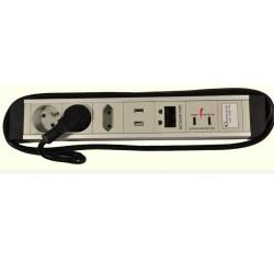 Listwa zasilająca przeciwprzepięciowa RJ45 USB