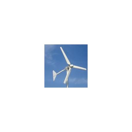 Elektrownia wiatrowa 1kW - 1,5kW turbina z masztem