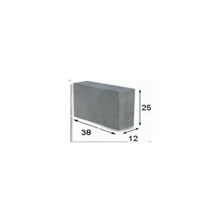 Blok fundamentowy 38x25x12
