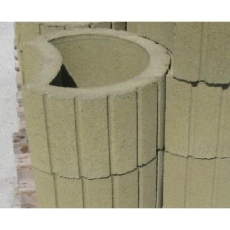 Donica betonowa zielona
